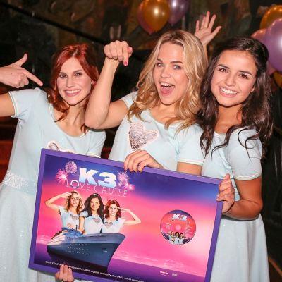 K3 brengt op vrijdag 17 november een nieuwe CD uit: K3 Love Cruise