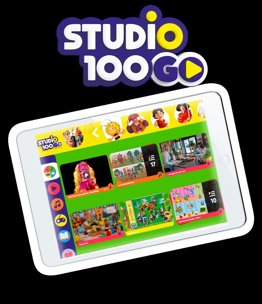 Amusement gratuit à l'infini avec Studio 100.