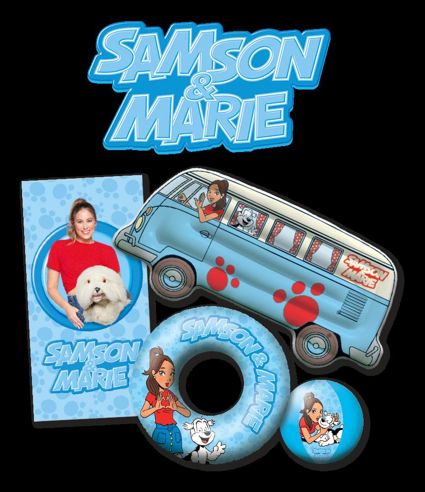 Beleef de leukste zomer met Samson & Marie!