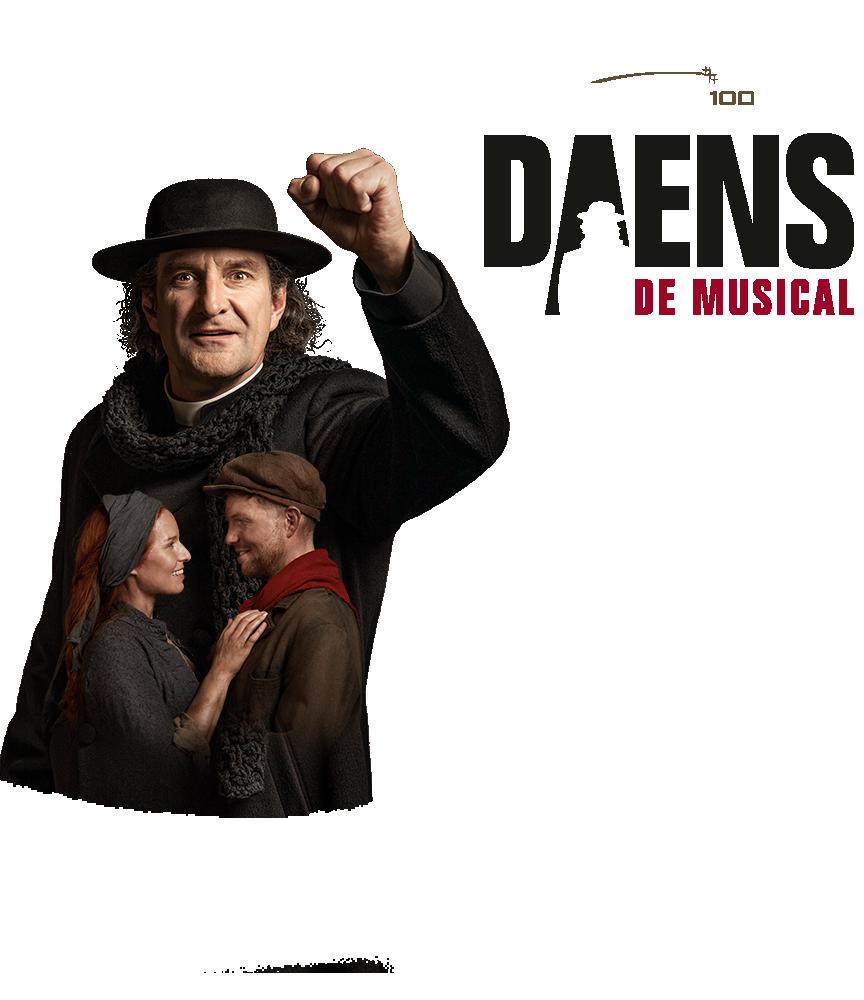 Ontdek de nieuwe spectaculaire versie van Daens de Musical!