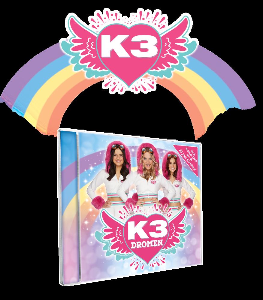 De nieuwe K3 cd, nu overal beschikbaar!