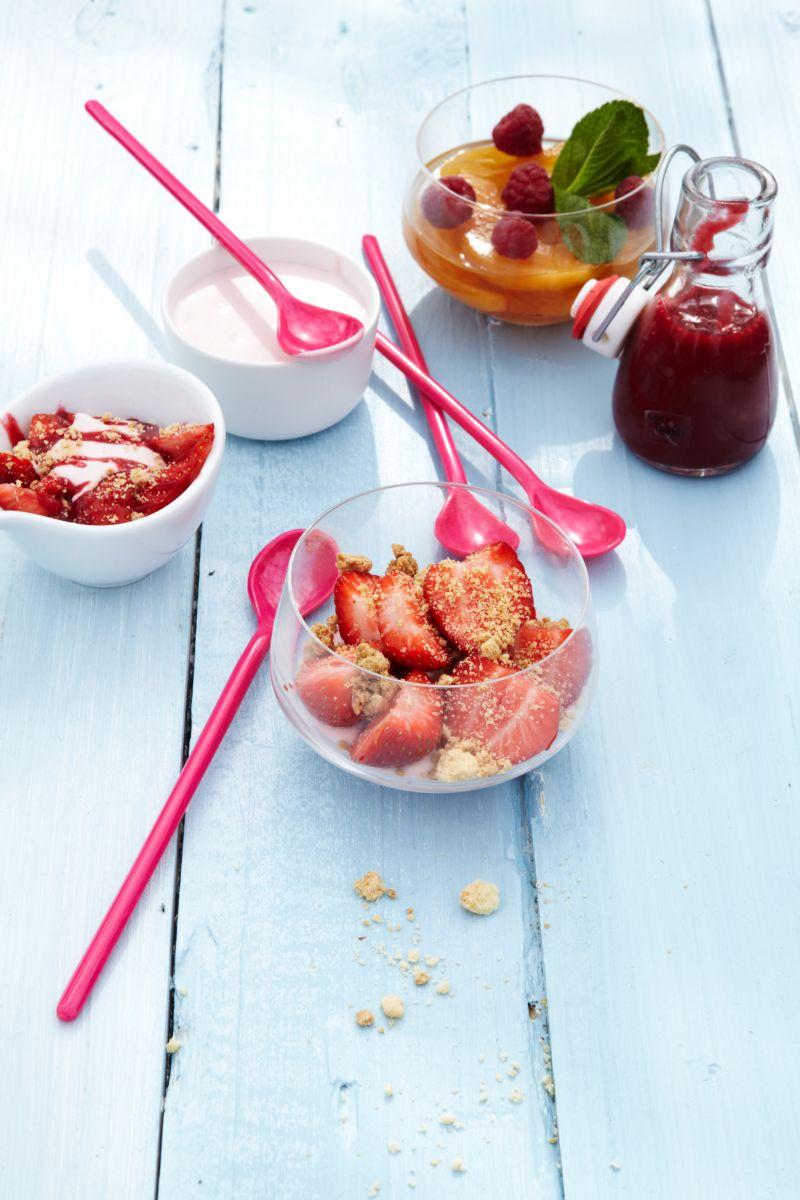 Aardbeien 'Romanoff'
