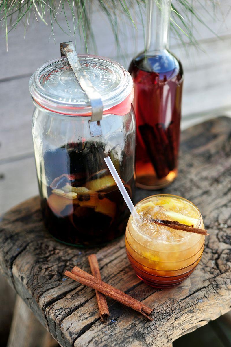 Victoria's secret met spiced amber rum
