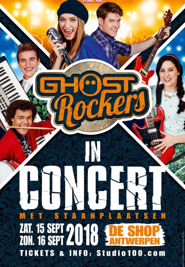 Ghost Rockers in Concert