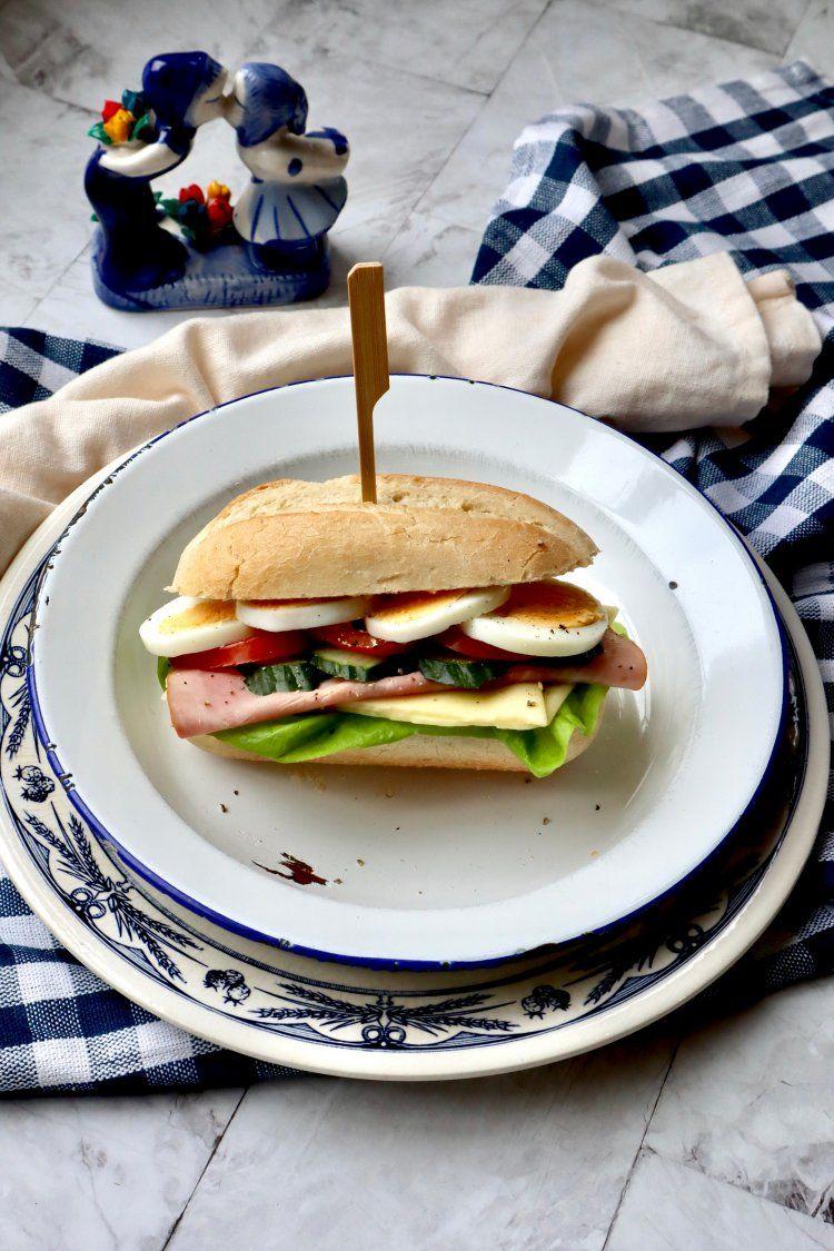 Hollands broodje gezond