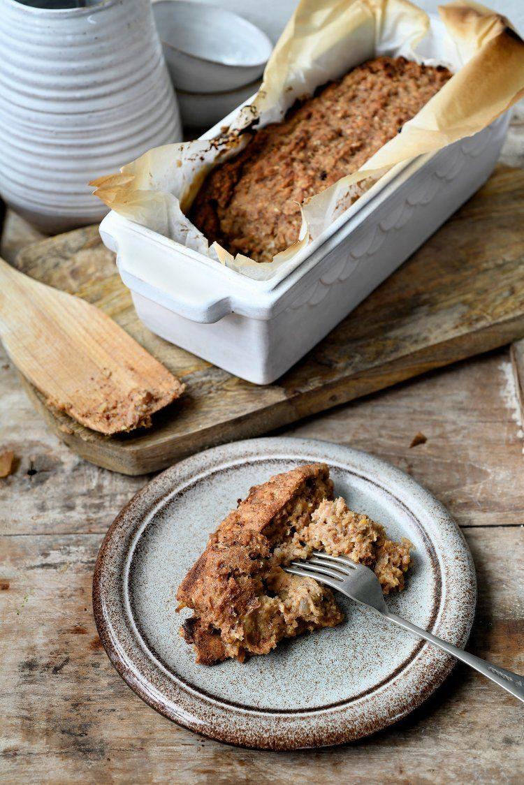 Broodpudding met karnemelk en gember