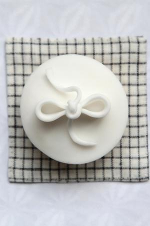 Winter cupcake