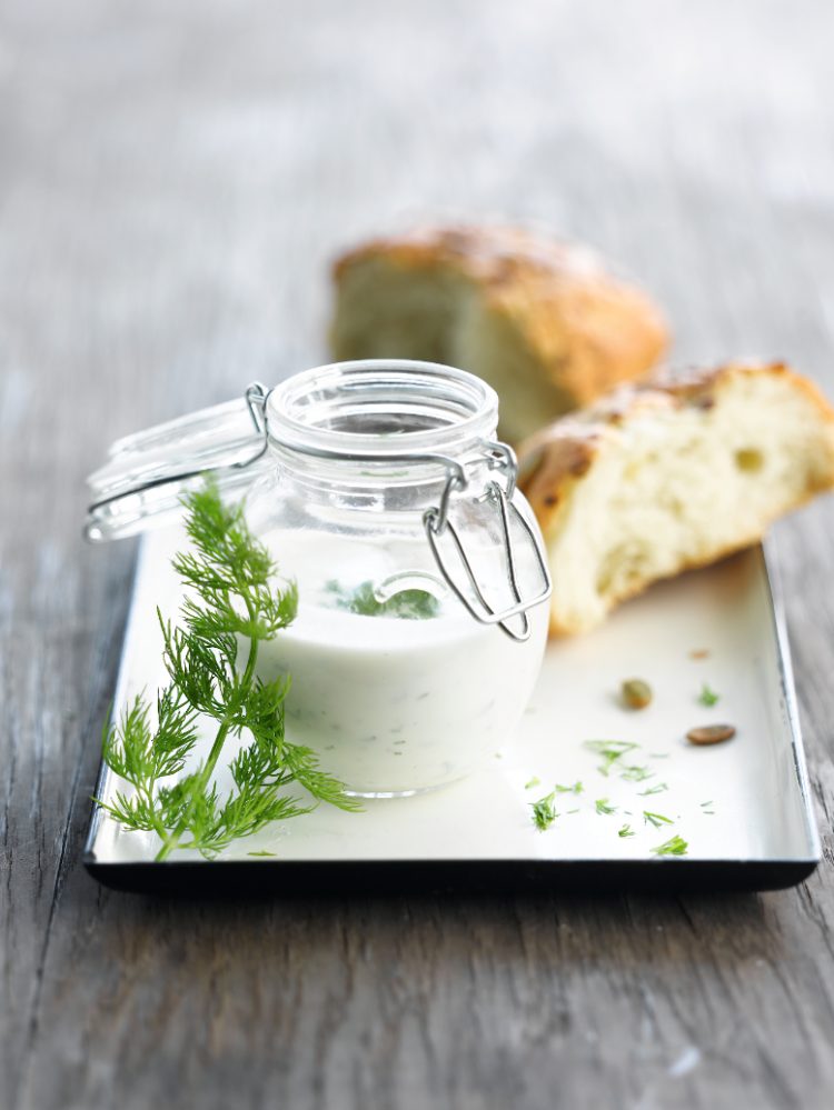 Dille-yoghurtdressing