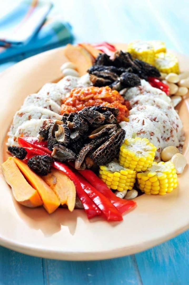 Veggie Cajun Jambalaya