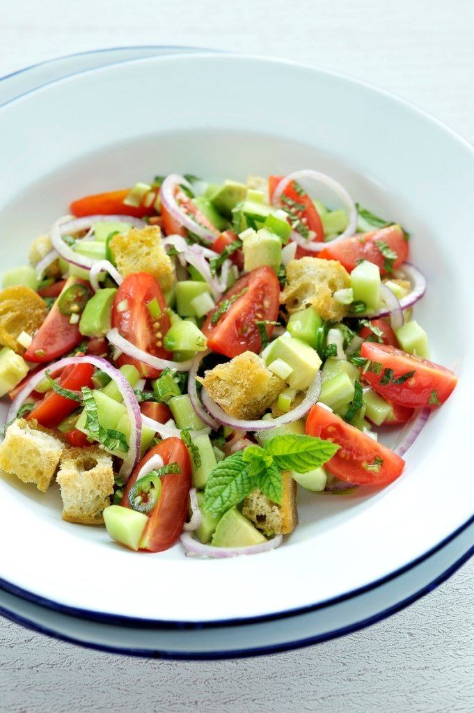 Turkse tomatensalade