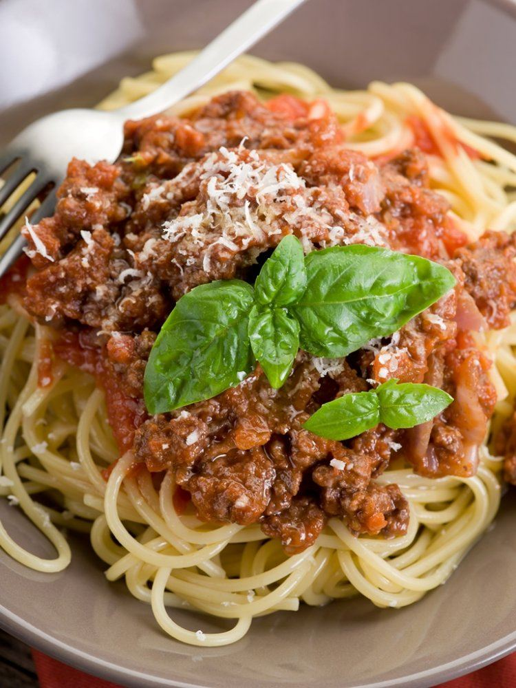 Verrassend lekkere spaghetti bolognese