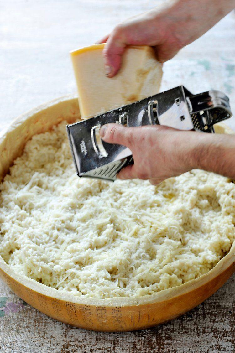 Risotto met Parmezaanse kaas