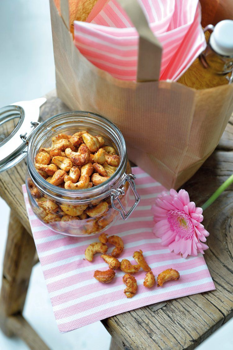 Sweet & spicy cashewnoten