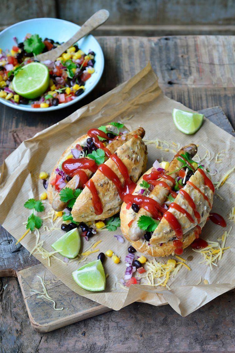Mexicaanse hotdog