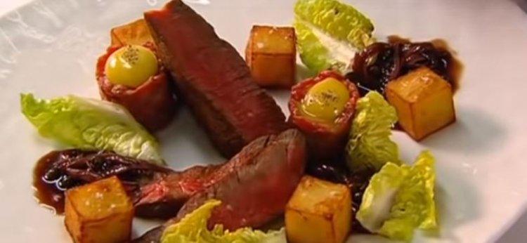 Steak met bordelaisesaus - Hof Van Cleve Style