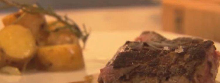 Biefstuk bakken zonder vetstof