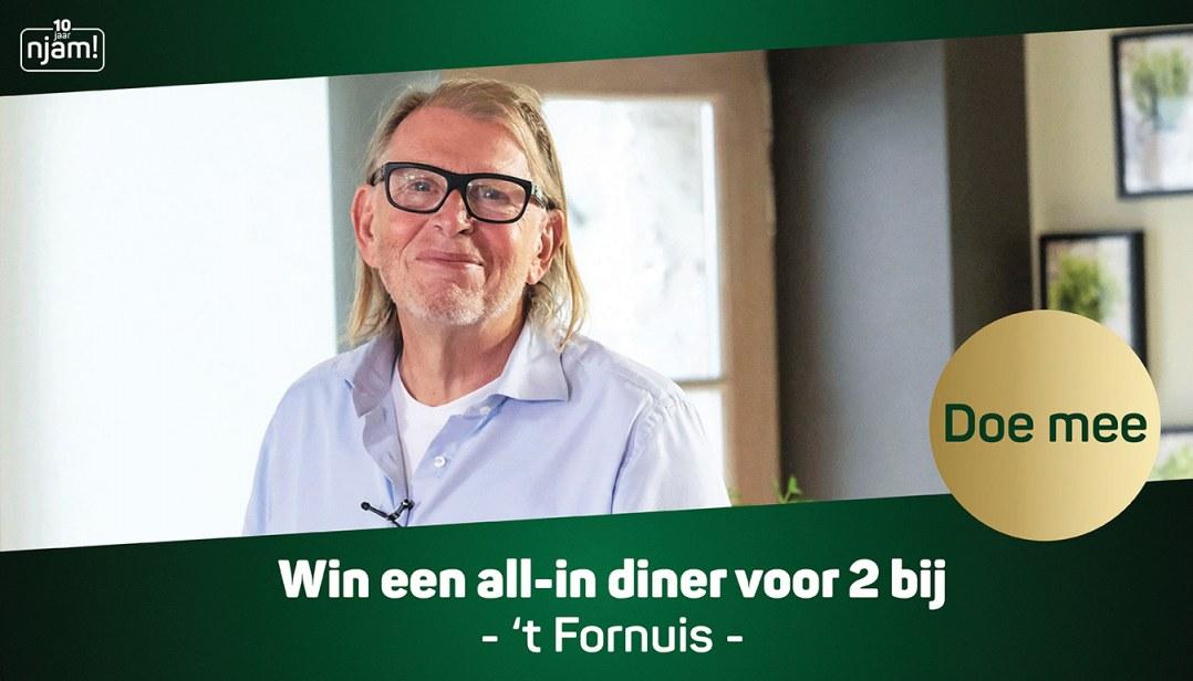 Win een all-in diner voor 2 personen bij 't Fornuis