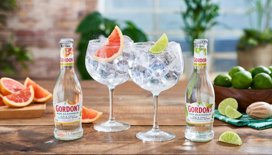 Win een pakketje Gordon's non-alcoholic gin & tonic