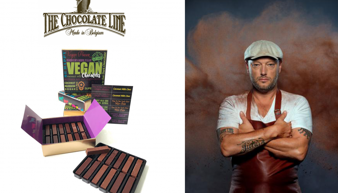 Win vegan chocolates van The Chocolate Line