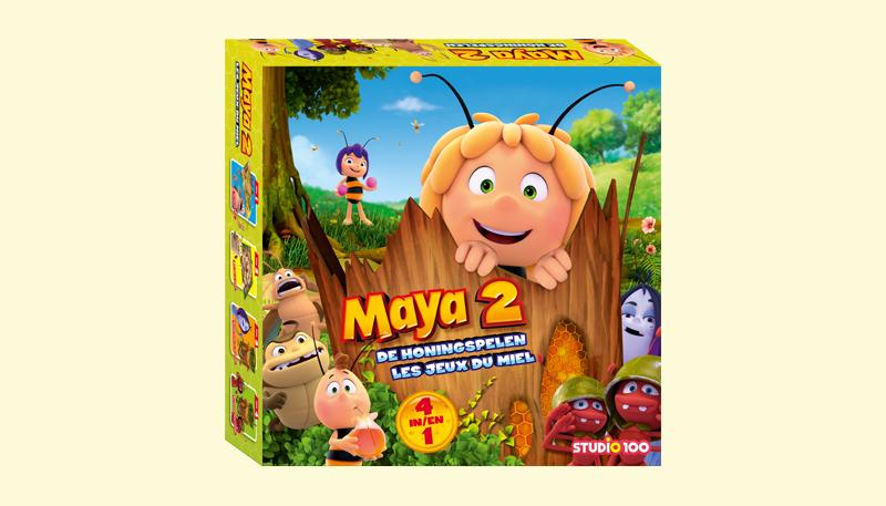 Win het Maya de Bij spel 'De Honingspelen'