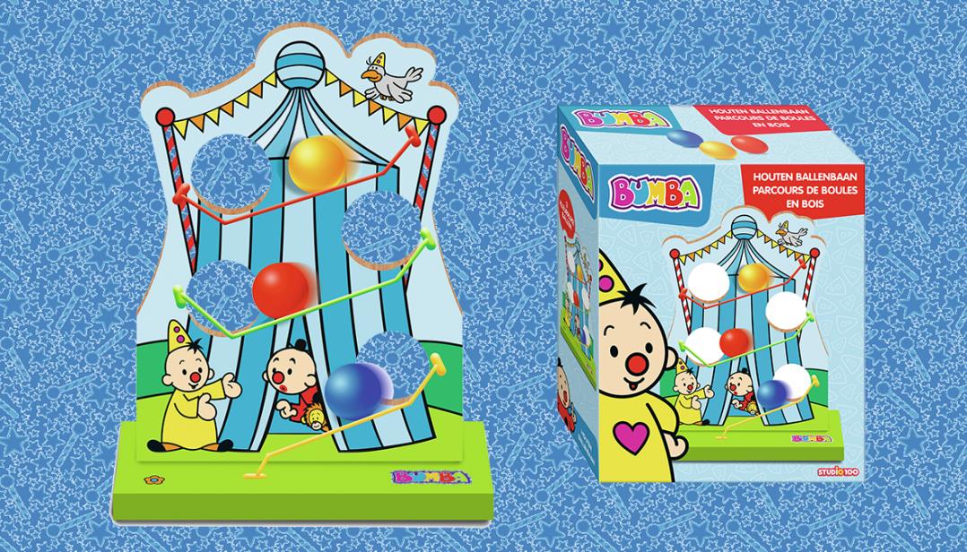 WIN een Bumba Circusbaan!