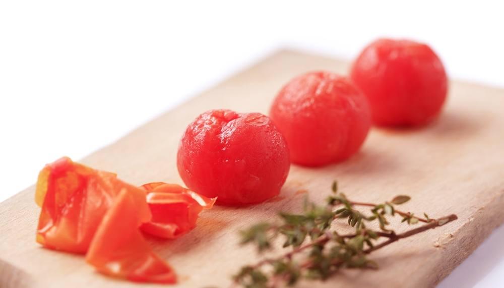 Tomaten blancheren