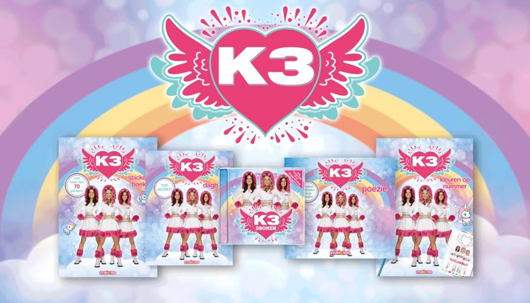 Win een K3 dromen boekenpakket en de nieuwe cd!