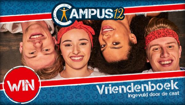Win een vriendenboek van Campus 12!