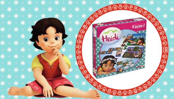 Un jeu 4 en 1 d'Heidi
