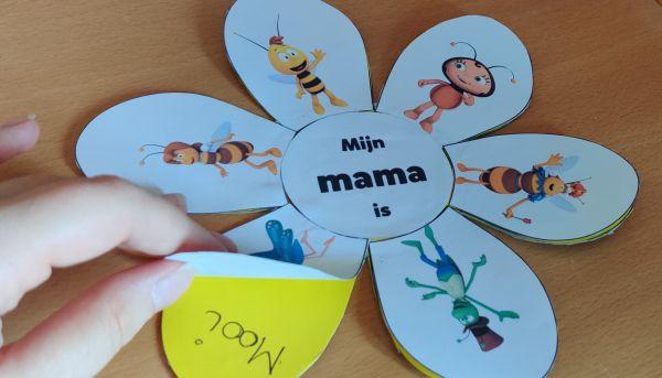 Verras je mama met een Maya bloem