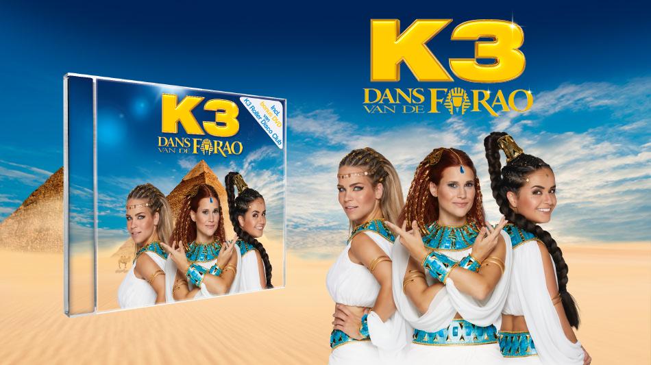 K3 stelt nieuw album volledig digitaal voor!
