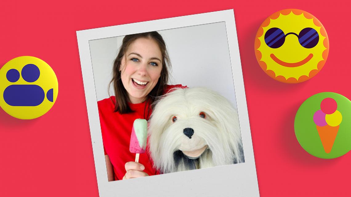 Samson & Marie zoeken de mooiste 'ijsjessnoet' voor hun nieuwe videoclip!