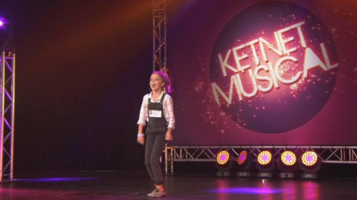 Dochter Koen Wauters in audities Ketnet Musical Kadanza Together