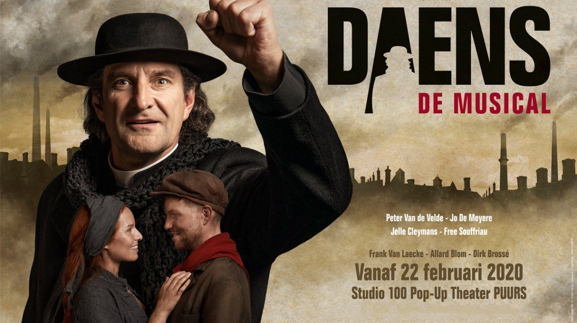 Studio 100 brengt nieuweversie van Daens!