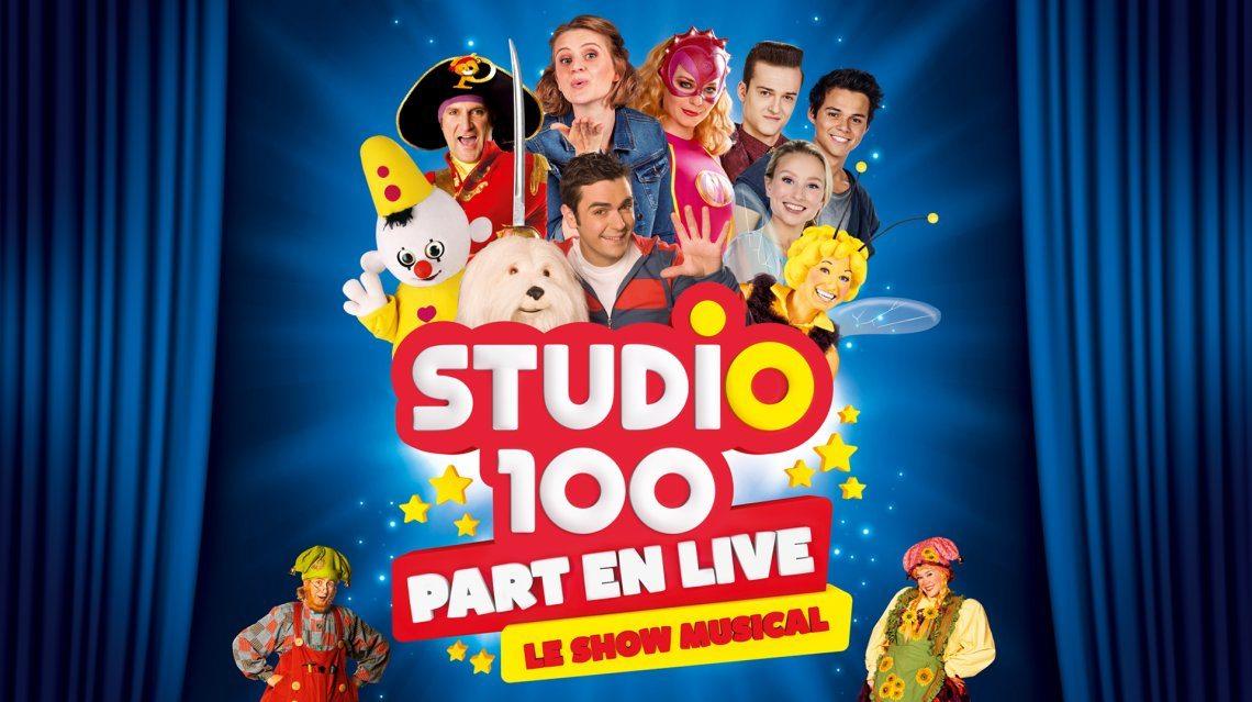 Studio 100 Part en Live