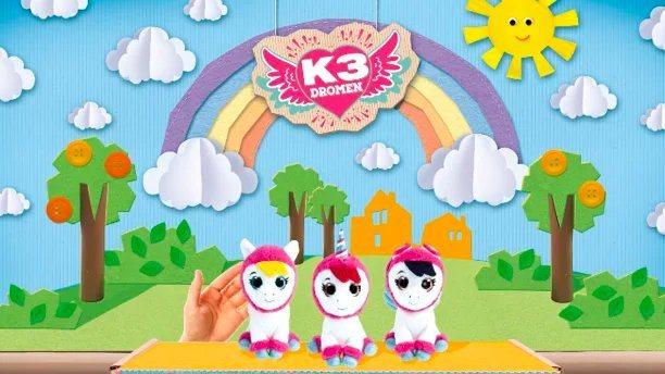 K3 is er nu ook voor de allerkleinsten