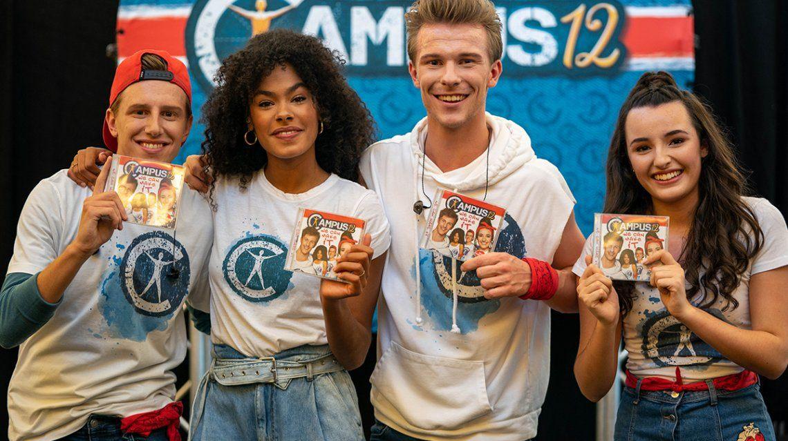 Campus 12 stelt nieuwe cd voor in Waasland Shopping
